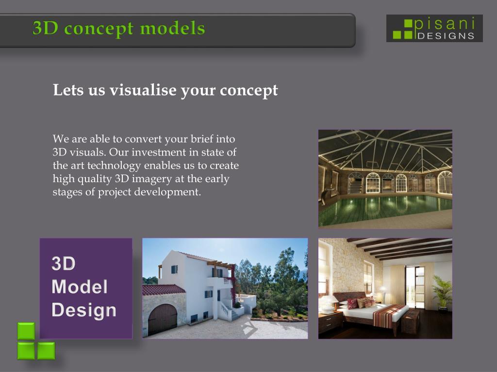 3D concept models