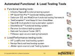 automated functional load testing tools