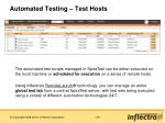 automated testing test hosts