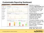 customizable reporting dashboard