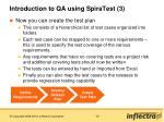 introduction to qa using spiratest 3