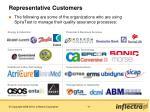 representative customers
