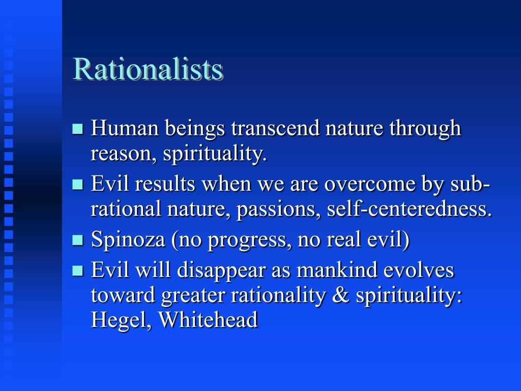 Rationalists