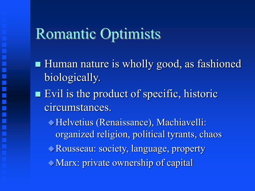 Romantic Optimists