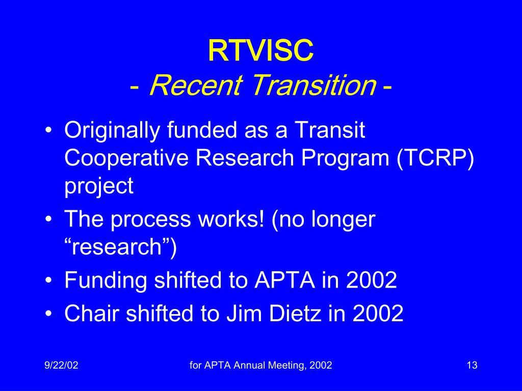 RTVISC