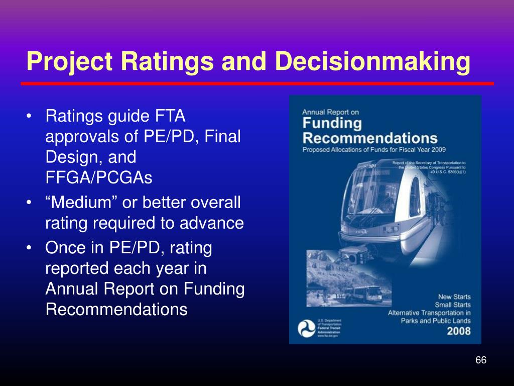 Project Ratings and Decisionmaking