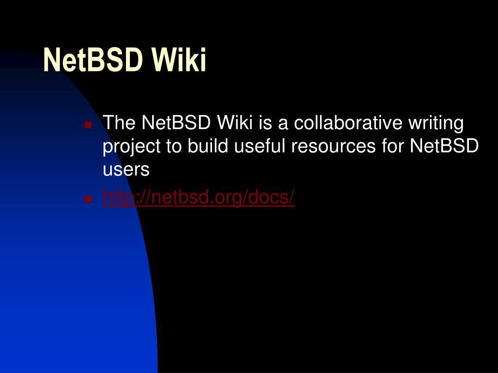 NetBSD Wiki