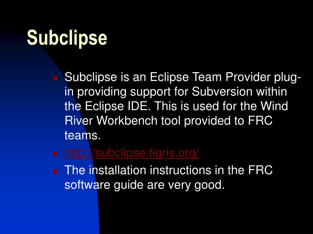 Subclipse
