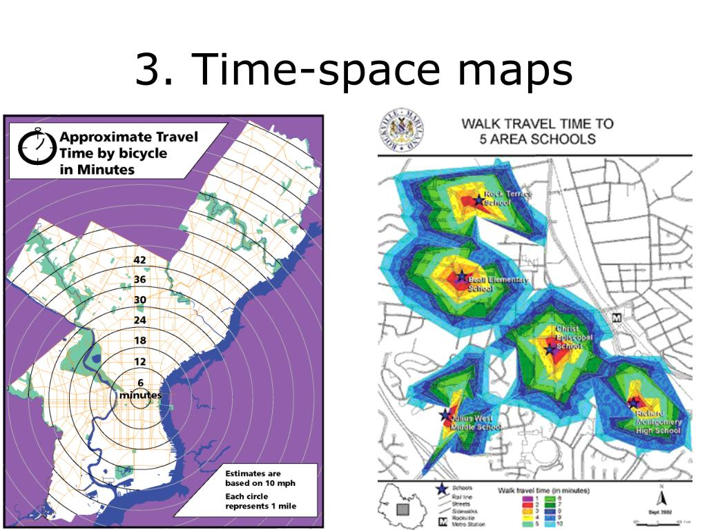 3. Time-space maps