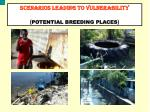 scenarios leading to vulnerability potential breeding places