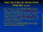 the nature of scientific inquiry cont24