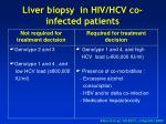 liver biopsy in hiv hcv co infected patients