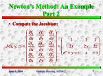 newton s method an example part 2