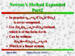 newton s method expanded part2