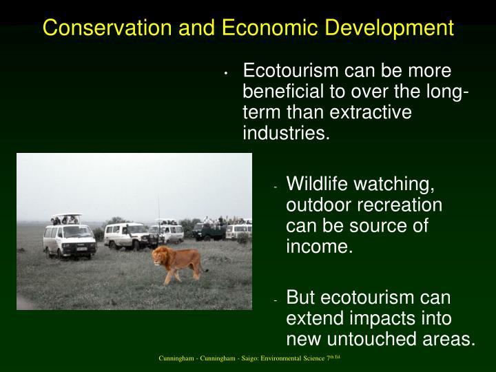 Conservation and Economic Development