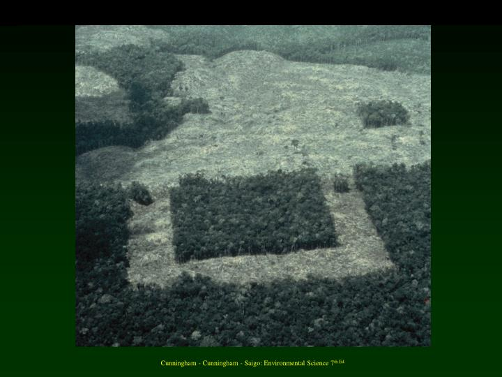 Cunningham - Cunningham - Saigo: Environmental Science 7