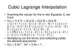 cubic lagrange interpolation25