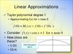 linear approximations4