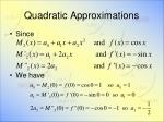 quadratic approximations6