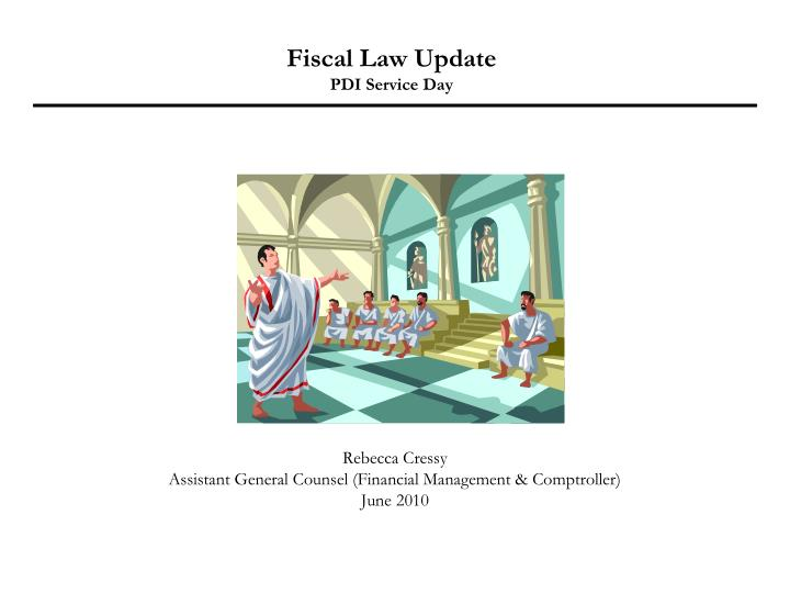 fiscal law update pdi service day n.