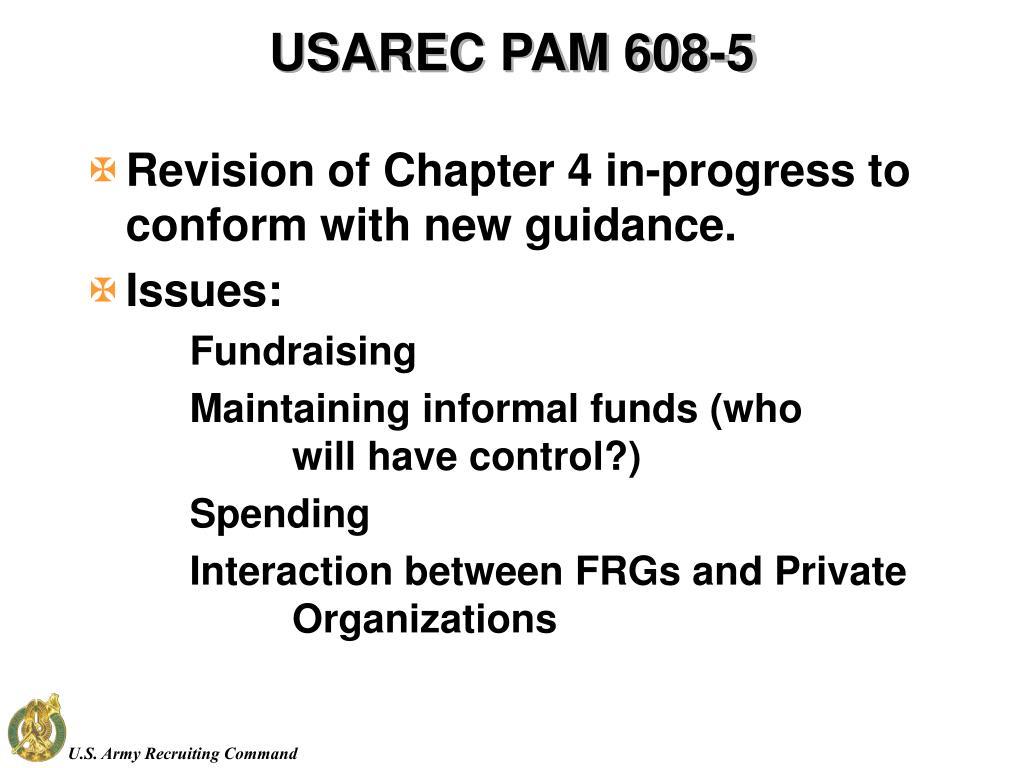 USAREC PAM 608-5
