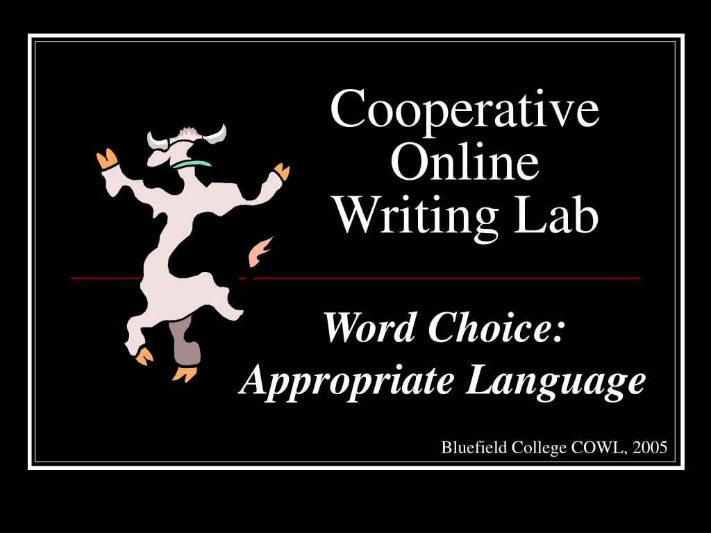 cooperative online writing lab l.
