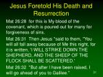 jesus foretold his death and resurrection4