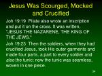 jesus was scourged mocked and crucified2