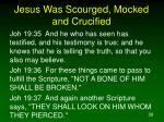 jesus was scourged mocked and crucified7