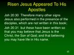 risen jesus appeared to his apostles3
