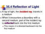 35 4 reflection of light