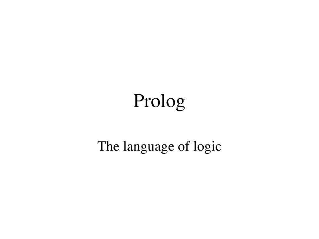 prolog l.