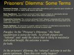 prisoners dilemma some terms