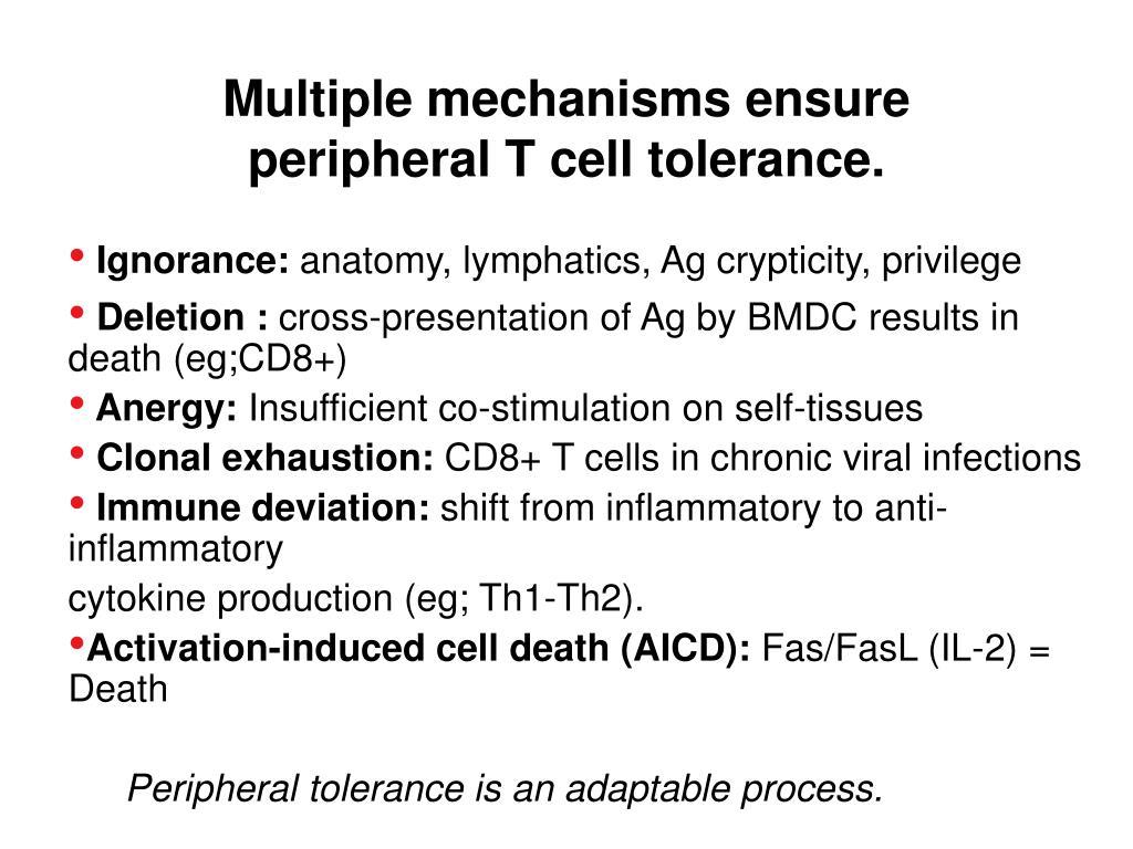 Multiple mechanisms ensure