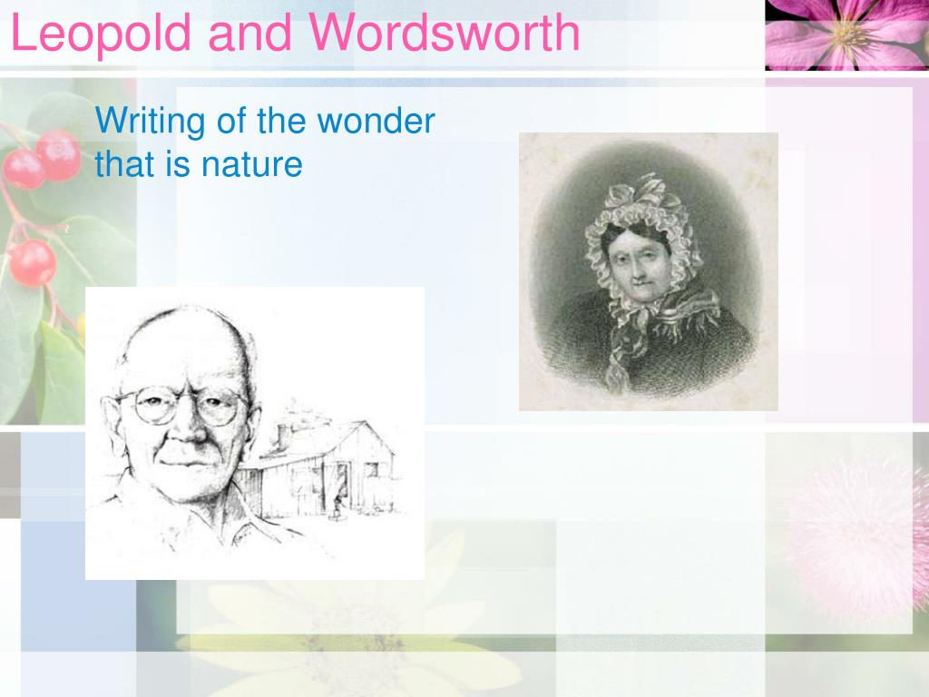 leopold and wordsworth l.
