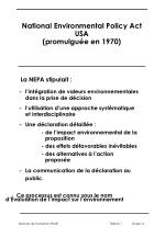 national environmental policy act usa promulgu e en 1970
