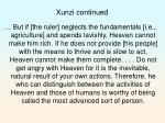 xunzi continued