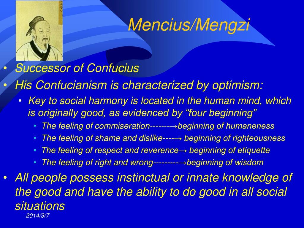 Mencius/Mengzi
