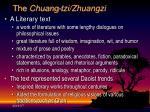 t he chuang tzi zhuangzi