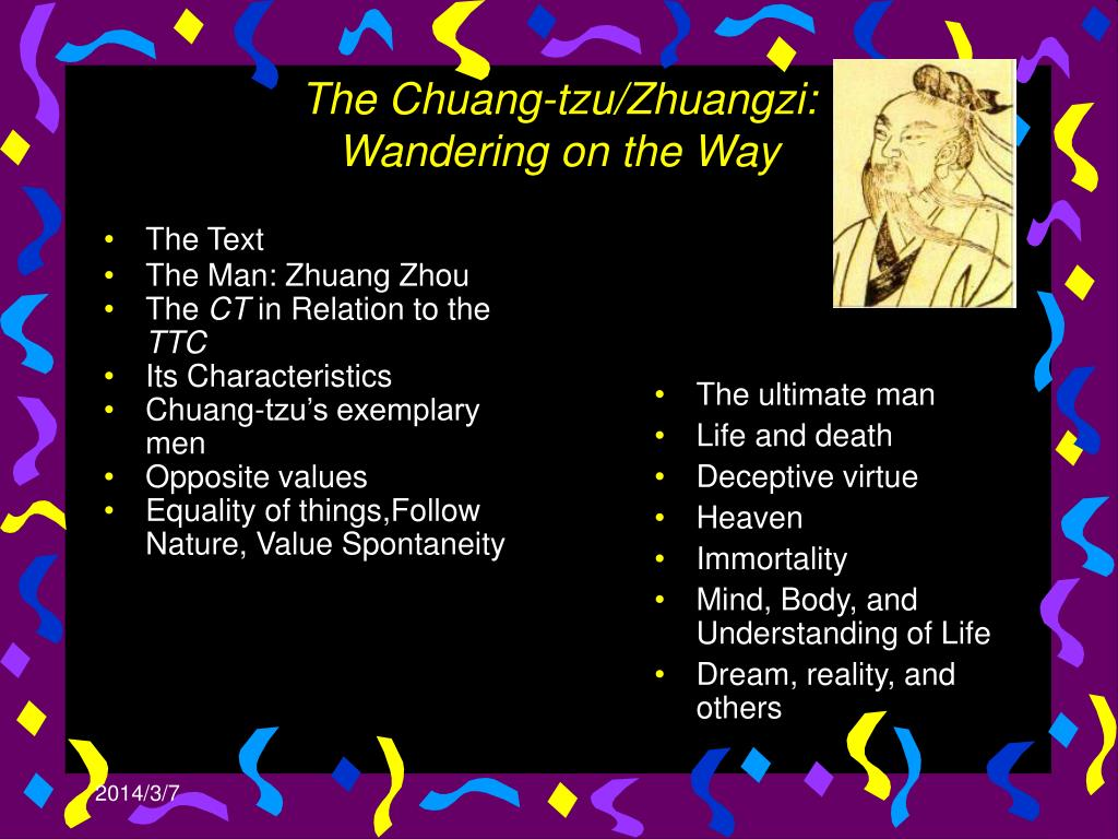 the chuang tzu zhuangzi wan dering on the way l.