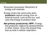 ecology30