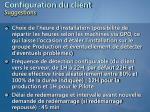 configuration du client suggestions58