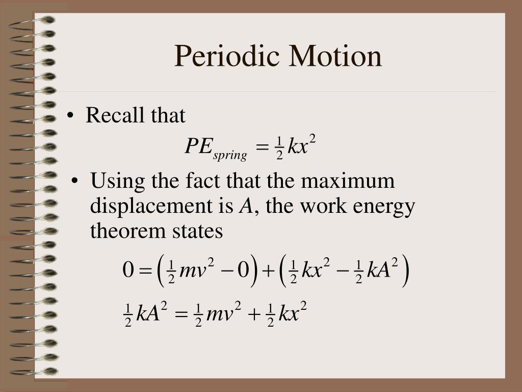 periodic motion l.