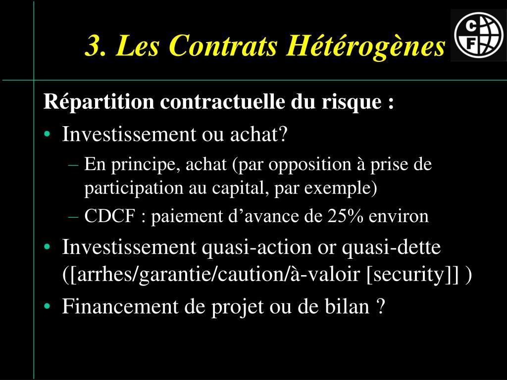 3. Les Contrats Hét