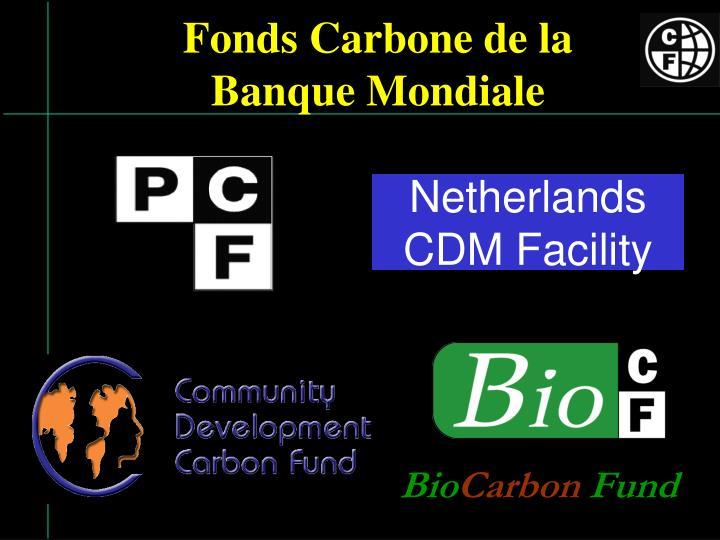 Fonds carbone de la banque mondiale