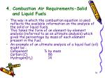 4 combustion air requirements solid and liquid fuels