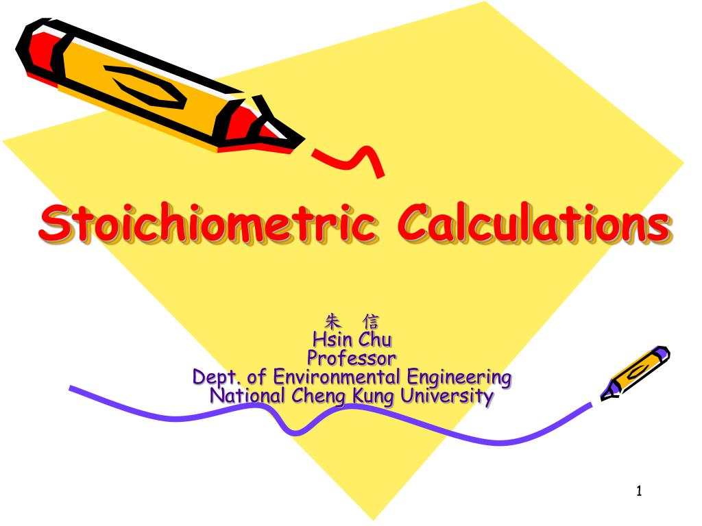 stoichiometric calculations l.
