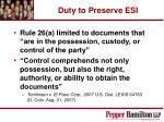 duty to preserve esi18