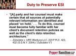 duty to preserve esi19
