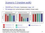 scenario 1 random walk